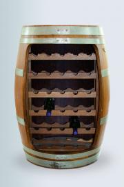 Weinfass Regal offen